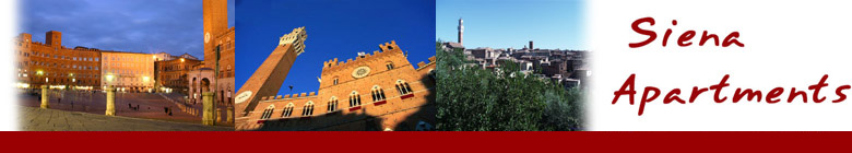 Siena Apartments :: Vacation apartments rental in Siena historical center ::